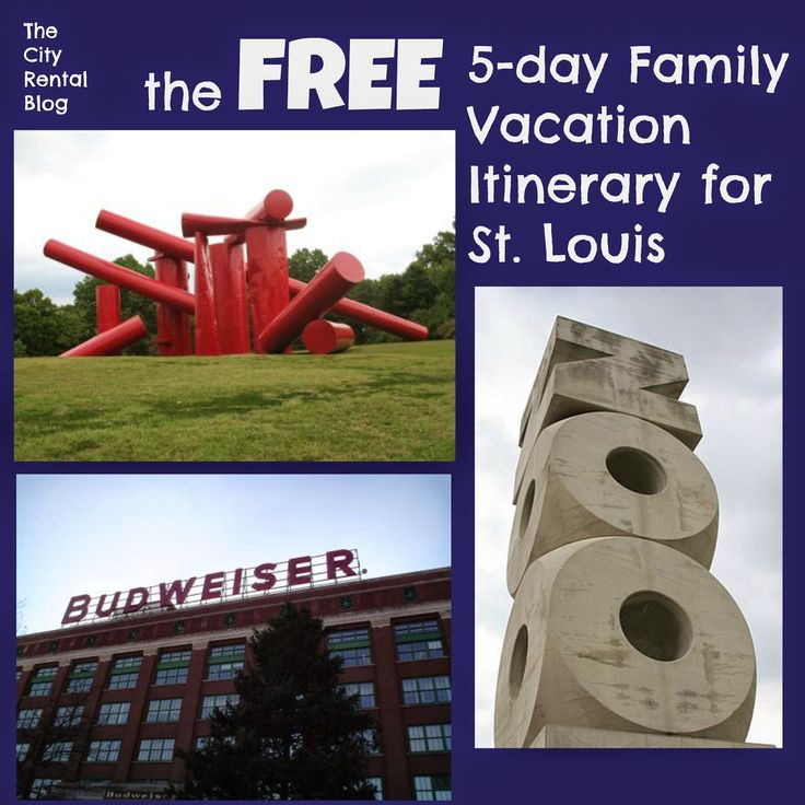 This Vacation Itinerary outlines 5 days of completely FREE family vacation activities in St. Louis, Missouri. Check out how far you can stretch your dollar in this frugal travel destination! | The City Rental Blog