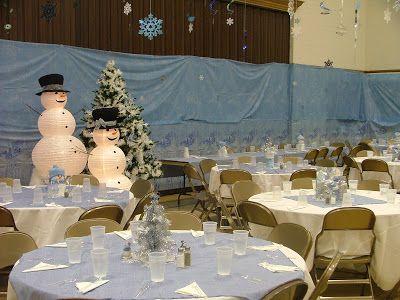 Ward Christmas Party Ideas: Winter Wonderland
