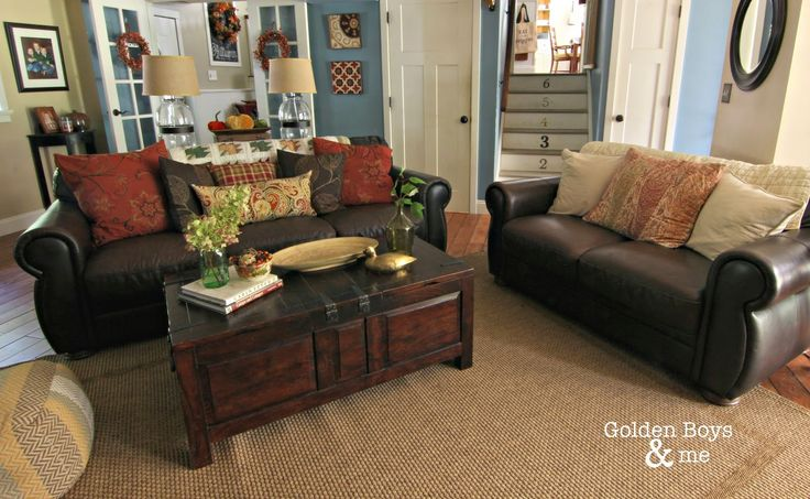 Our Fall Family Room Diy Home Decor Ideas Living Room