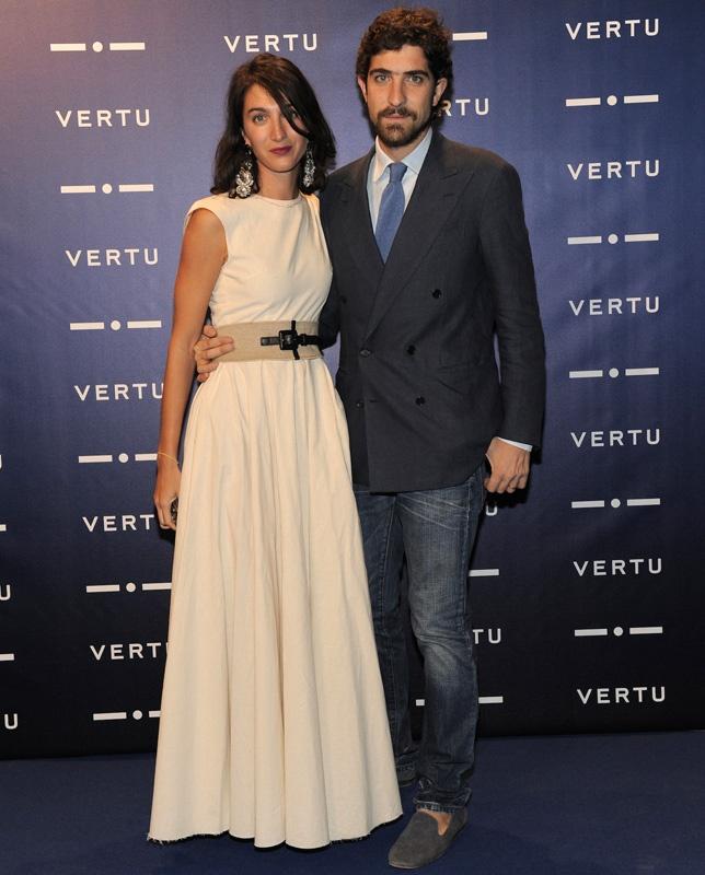 Marta Ferri -Carlo Borromeo Marzotto - Vertu evento- Milan