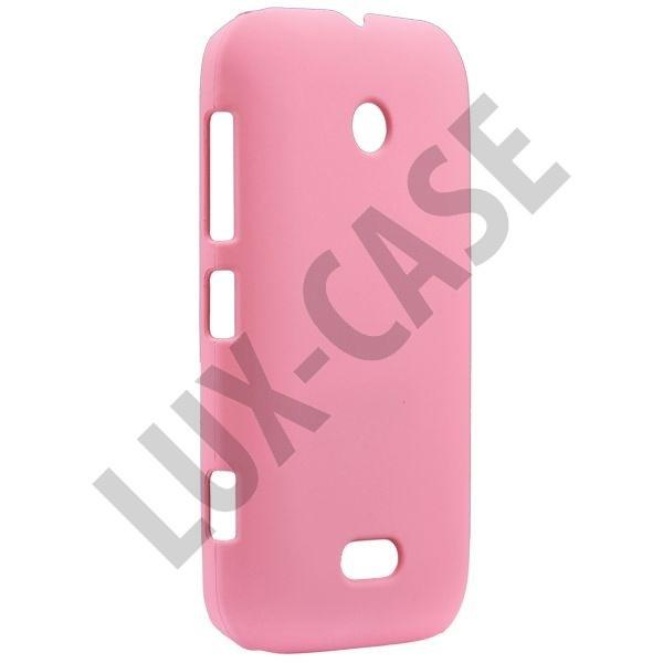 Hard Shell (Lys Rosa) Nokia Lumia 510 Deksel
