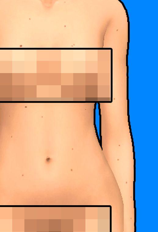 BODY FRECKLES by Prxnce