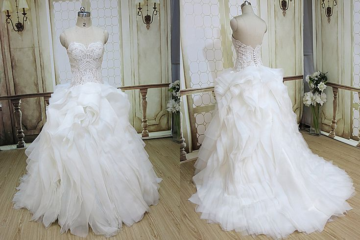 production wedding dress