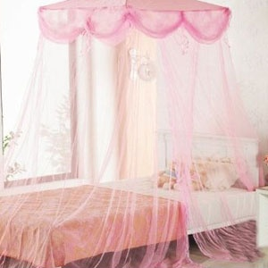 A Sheer Canopy Can Make Any Bedroom Furniture Fit For A Princess.
