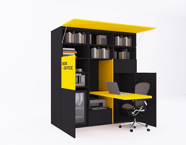 Innovation And Function A Box Office Interior Design Architecture Pinterest Creative E