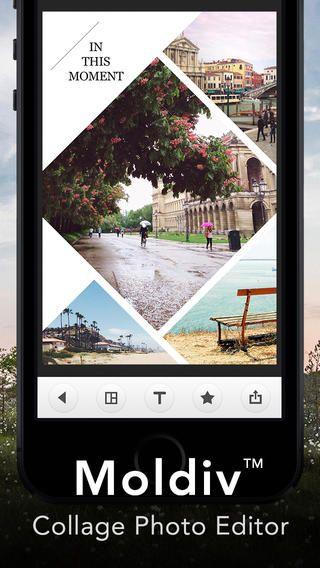 Moldiv - collage photos editor