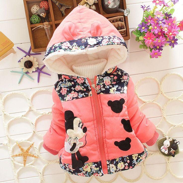 Girls Outerwear Minnie Hoodies Jacket