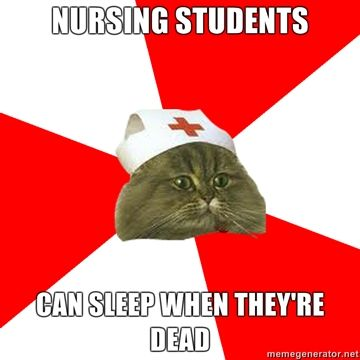 This is true now and I'm only in my last semester of nursing prerequisites...