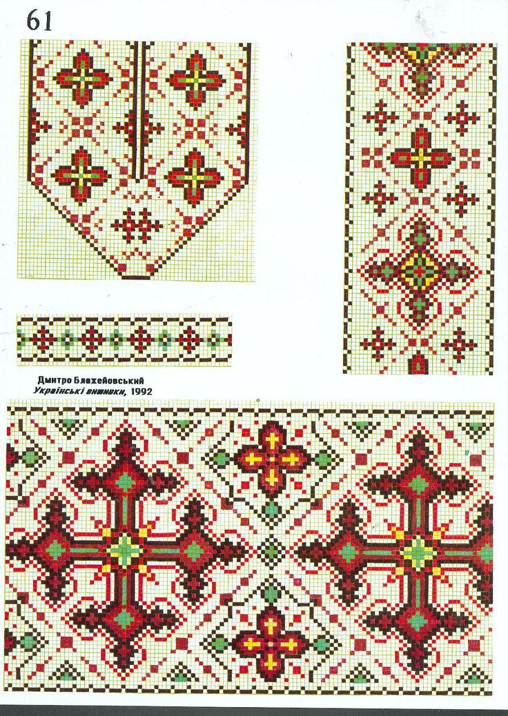 Дмитра Блажейовського - Українська вишивка, 1992 -- Dmitry Blazejowskyj Ukrainian embroidery, 1992