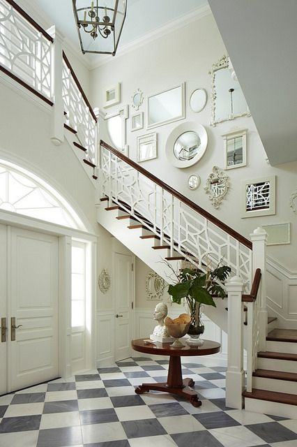 Things That Inspire - Architectural design: Stairs over the door (blog post)