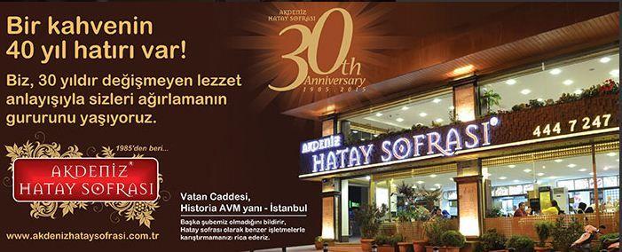 Akdeniz Hatay sofrası 30.kurulus yıldönümü daveti #hatay #sofrasi #fatih #food #like #kesif #yemek #oneri #kunefe #blogger #gurme #tatli #desserts #yöresel #belluriye #kirectekabaktatlisi #künefe #antakya #lezzet #foodie #gurmeseyyah #events #aksaray #bloggers #gourmand #foodporn #foodpics #turkiye #turkey #foodgasm