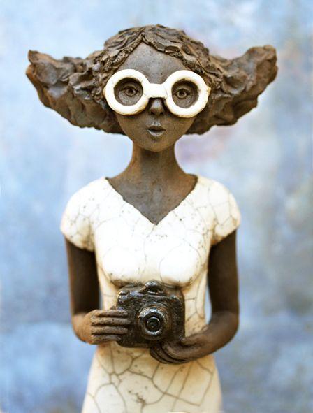 Sehr 380 best Céramiques Raku images on Pinterest | Animal sculptures  UZ91