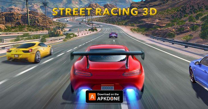 Street Racing 3d Mod Apk 6 2 8 Unlimited Money Street Racing Racing Real Racing