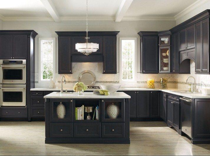 17 best Black Kitchen Cabinets Ideas images on Pinterest | Cocinas ...