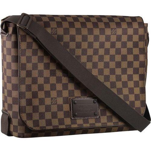 Louis Vuitton Damier Ebene Canvas Brooklyn Gm N51212 Ahk-$249