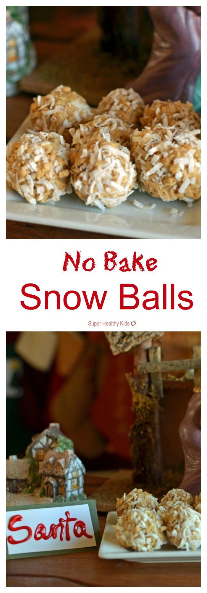 No Bake Snow Balls. Ahh!! We love this tradition! Making no-bake ...