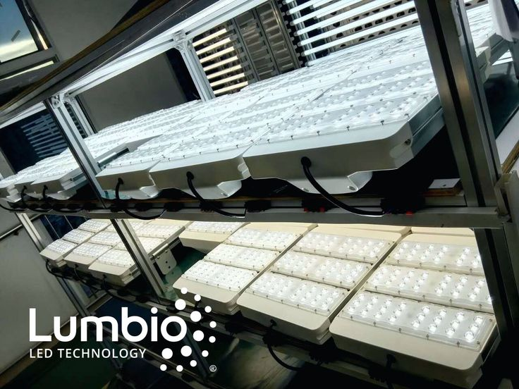 Have a look at LED Canopy lights Lumbio® lights already at the phase of testing.