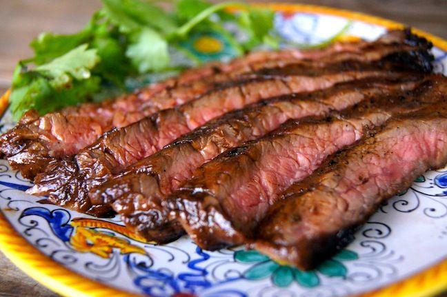 Three Ingredient Sweet Glazed Flank Steak Recipe - Momtastic