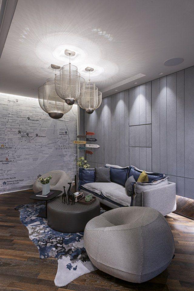 Contemporary Design For A Classy Apartment Interior Design