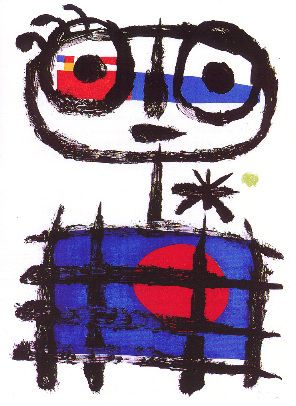 Joan Miro    Spanish Surrealist (mostly)  1893-1983