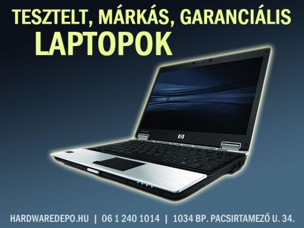 Tesztelt, hibátlan laptopok kitűnő állapotban, garanciával http://www.pepitahirdeto.multiapro.com/apro.php?show_id=5289304  Nézzen szét szép állapotú, kifogástalanul működő márkás laptopjaink között!