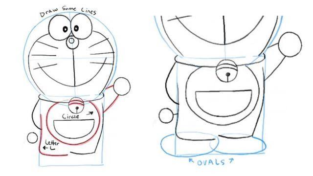31 Gambar Karikatur Kartun Doraemon Hitam Putih Cara Menggambar Doraemon Dan Kawan Kawan Mudah Dengan Download 8 000 Gambar K Di 2020 Kartun Lucu Karikatur Kartun