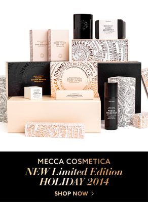 Mecca Cosmetica New Limited Edition Holiday 2014