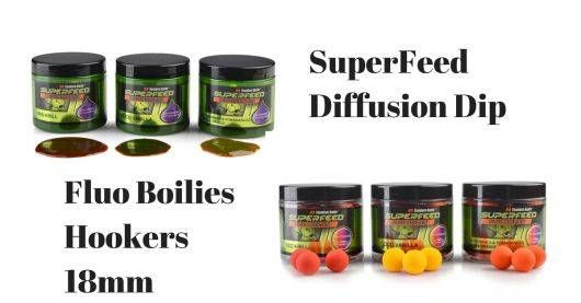 Lov kapra: SuperFeed Dip Diffusion a SuperFeed Fluo Hookers