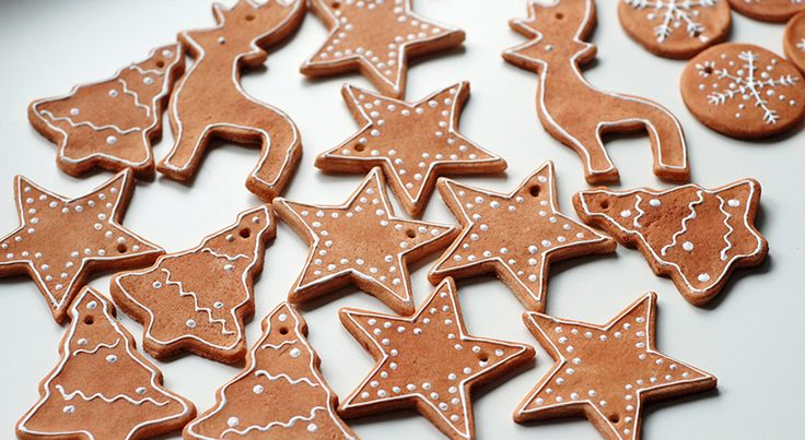 Fake Iced gingerbread Christmas ornaments - good tutorial! great tips, best tutorial I've found