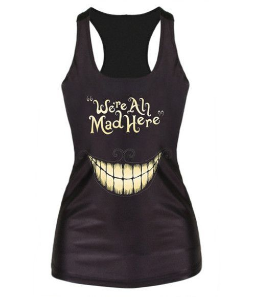 2017 Hot Sale Colorful Skull Head Printed White Tank Top Summer Harujuku Fitness Camisoles Casual Silm Vest Women Tops F54