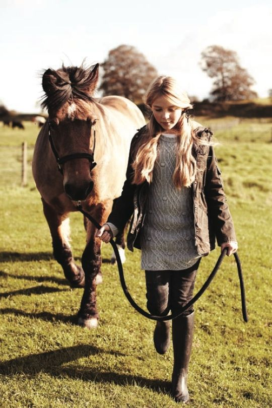 Barbour childrenswear winter 2012 new sweater styles for girls for fall