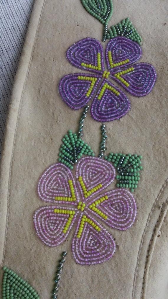 Native American Beaded Flowers