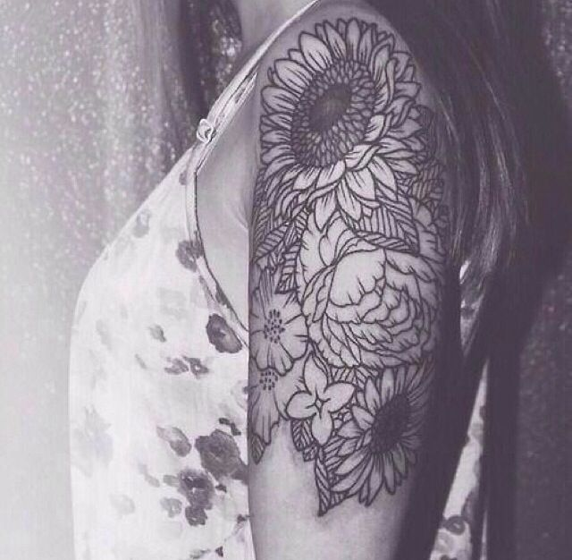 45 Inspirational Sunflower Tattoos