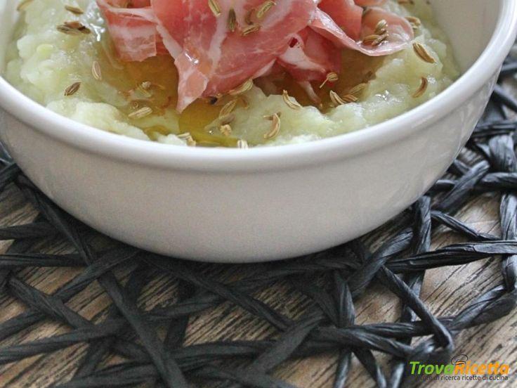 Purè di finocchi saporitissimo. Un ottimo piatto unico!  #ricette #food #recipes