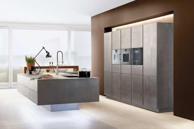 Toll Moderne Küche Mit Oberfläche Metal X | Küchen Ideen U0026 Bilder | Pinterest