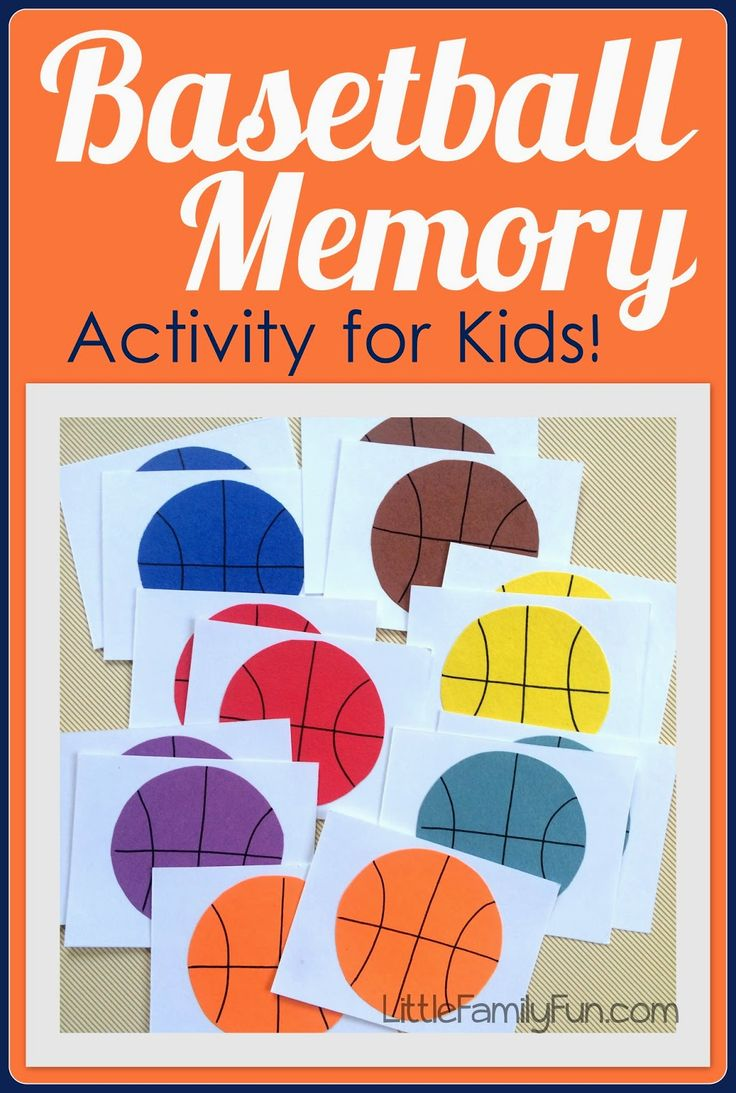 Basketball game for kids! Fun way to practice colors with little ones. And very easy to make!