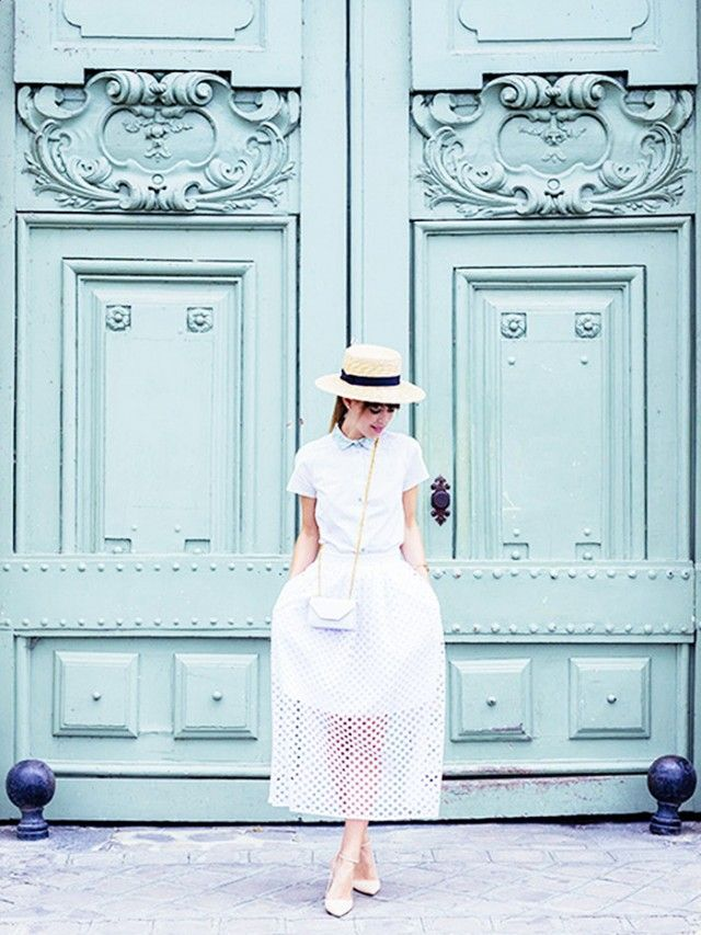 Places to take pictures in Paris / Who What Wear
