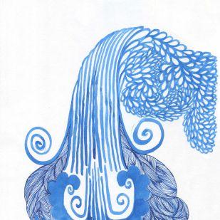 Waterfalling - by Ashya Lane-Spollen