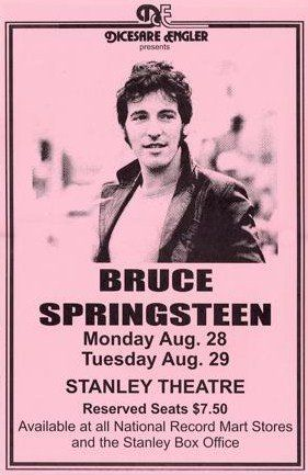 Bruce Springsteen Live at Stanley Theatre LIVE 11x17 Rare Very Limited Concert Poster Print Only One on Amazon Poster,http://www.amazon.com/dp/B007QWJPWO/ref=cm_sw_r_pi_dp_bObutb0W2SN04HNR