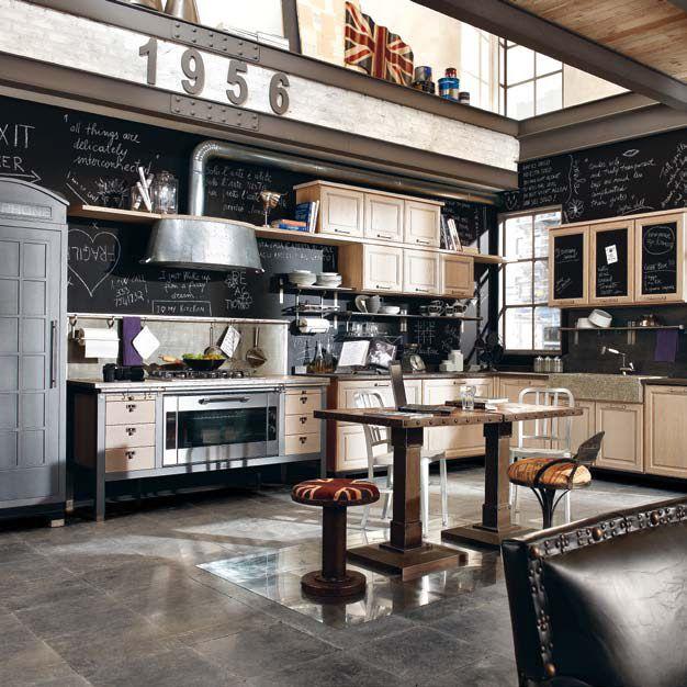 дневник дизайнера: Винтажная мебель для кухни от Marchi Group