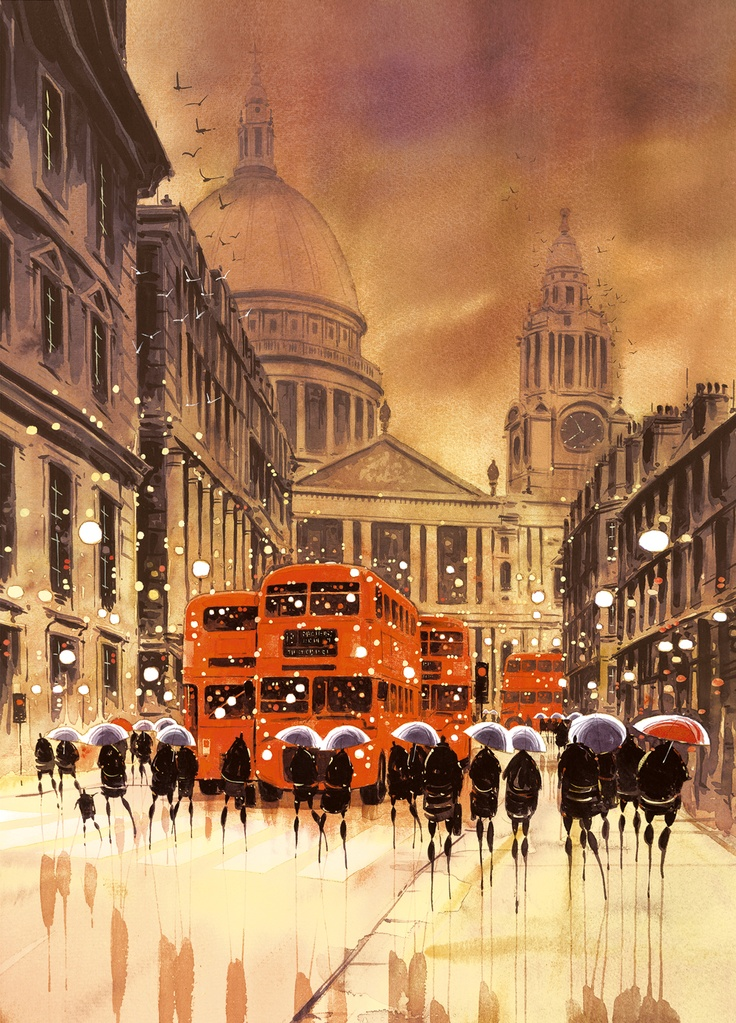 Peter Rodgers - Reflections in the City