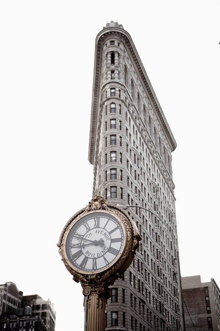 Flatiron historic building such an ironic photo such a for New york landmarks