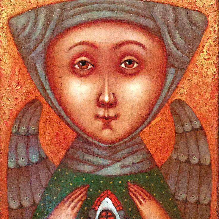 Купить Ангел - Хранитель дома 2, авторская печать в интернет магазине на Ярмарке Мастеров