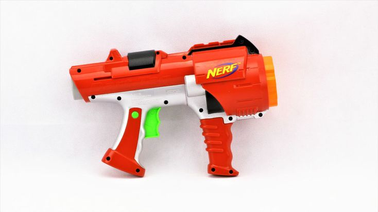 Nerf Rotary Dart Tag Blaster Gun Hyperfire + gun full of bullets x10 kids toys