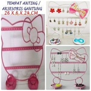 TEMPAT ANTING GANTUNG HELLO KITTY http://grosirproductchina.co.id/tempat-anting-gantung-hello-kitty.html