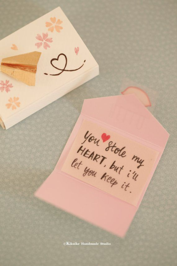 Miniatures Matchbox CardValentines Giftcheer Up BoxFunny Love Card BirthdayGift For Her HimGir