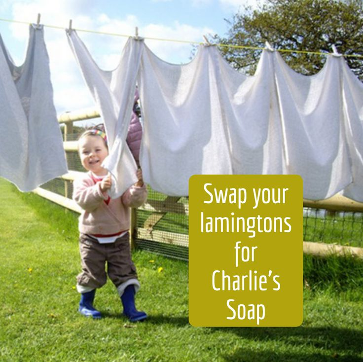 No only does Charlie's Soap whiten whites it's a fabulous substitute for lamingtons.  http://amp.gs/Zz1x @CleanandGreenAustralia