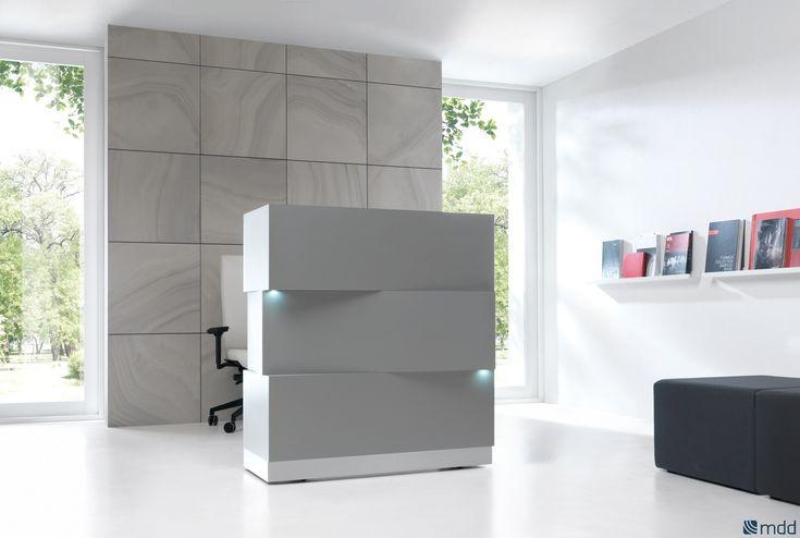 Banco per reception in HPL con illuminazione ZEN by MDD