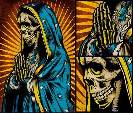 Santa Muerte by Pale Horse Design
