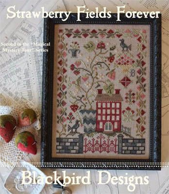 Strawberry Fields Forever - Cross Stitch Pattern: